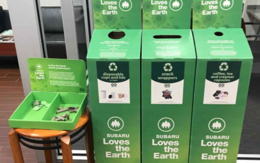 Subaru Loves the Earth recycling program