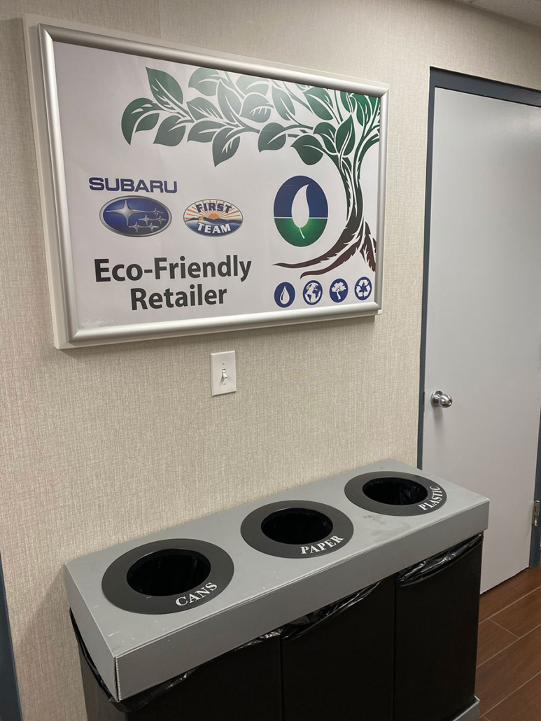 First Team Subaru Loves Earth